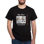 Our 1st Chanukah 08 Dark T-Shirt
