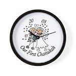 Our 1st Chanukah 08 Wall Clock