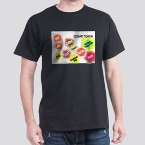 Veterinary Technician Splat Dark T-Shirt