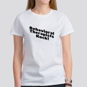 Behavioral Therapists Rock! Women's T-Shirt