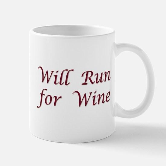 Will Run for Wine Mug