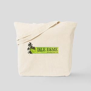 Isle Esme: Paradise Found Tote Bag