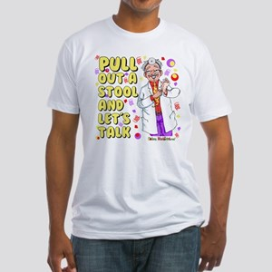 Pull out a stool Fitted T-Shirt