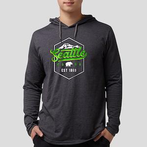 Seattle Washington PNW Classic Long Sleeve T-Shirt