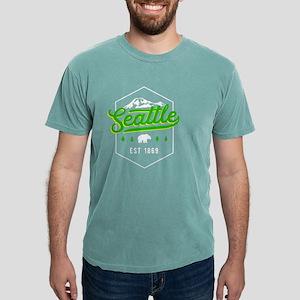 Seattle Washington PNW Classic Badge Pride T-Shirt