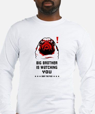 PUG Big Brother- Long Sleeve T-Shirt