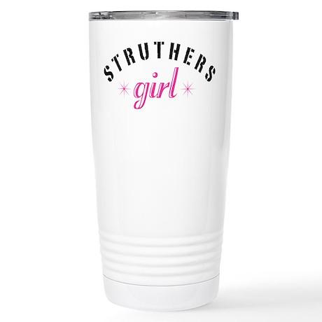 Struthers Girl Stainless Steel Travel Mug