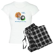 8 Ball Billiards Gypsy Pajamas