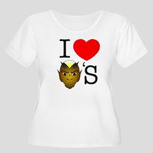 Iota Phi Theta Women's Plus Size Scoop Neck T-Shir