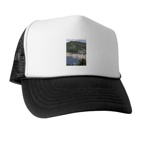 St. Lucia Items Trucker Hat