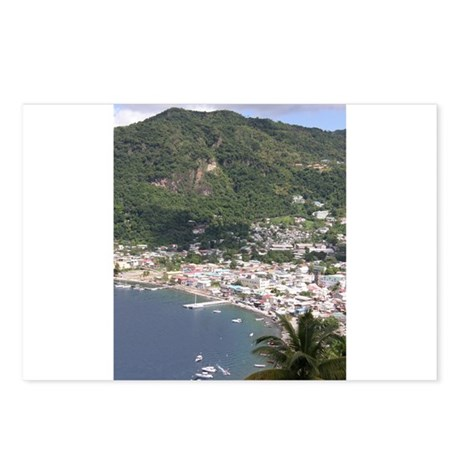 St. Lucia Items Postcards (Package of 8)