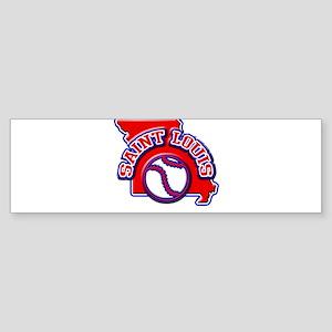 St. Louis Baseball Bumper Sticker