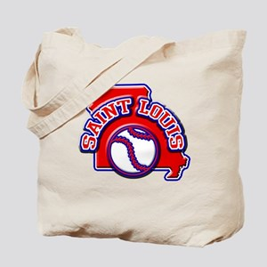 St. Louis Baseball Tote Bag