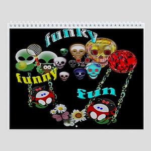 Funny Funky Fun Wall Calendar