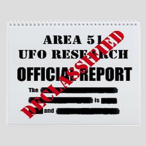 Ufo Comics Wall Calendar