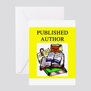 Published author greeting cards cafepress funny geek professor greeting card m4hsunfo