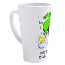 Cross Cues 17 Oz Latte Mug