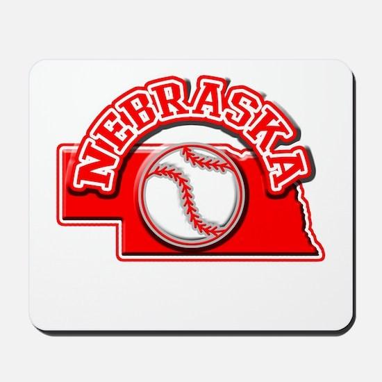Nebraska Baseball Mousepad