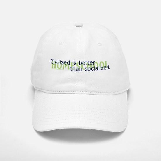 Civilized/II Baseball Baseball Cap