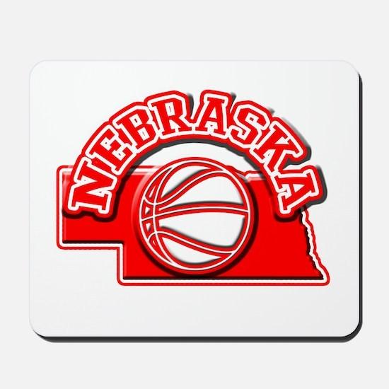 Nebraska Basketball Mousepad