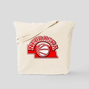 Nebraska Basketball Tote Bag