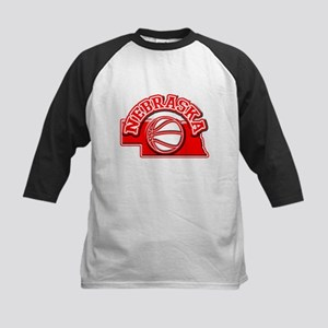 Nebraska Basketball Kids Baseball Jersey