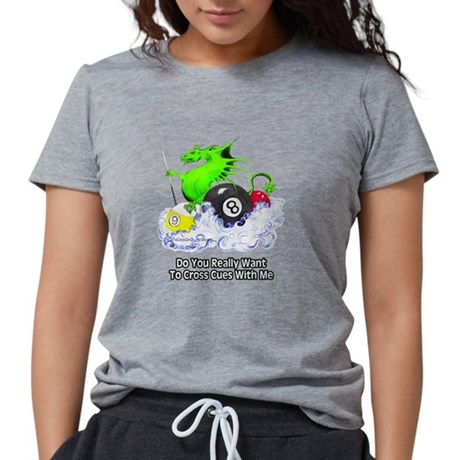 Dragon Cueswomens tri-blend t-shirt is our softest shirt available