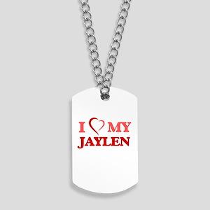 I love my Jaylen Dog Tags
