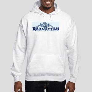 Kazakhstan Hooded Sweatshirt