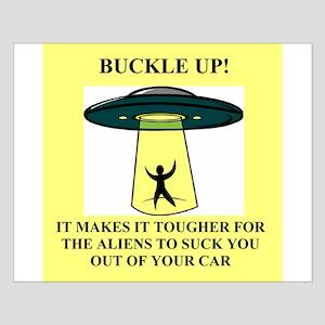 ufo alien abduction area 51 j Small Poster