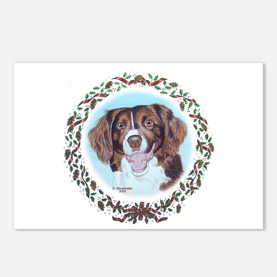 Brittany Spaniel Postcards (Package of 8)