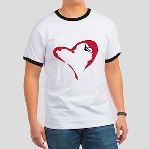 Heart Climber Ringer T