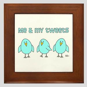 Me & My Tweets Framed Tile