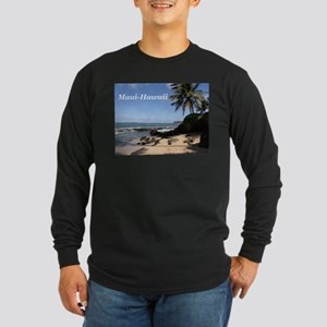Great Gifts from Maui Hawaii Long Sleeve Dark T-Sh