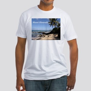Great Gifts from Maui Hawaii Fitted T-Shirt