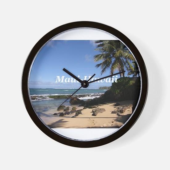 Great Gifts from Maui Hawaii Wall Clock
