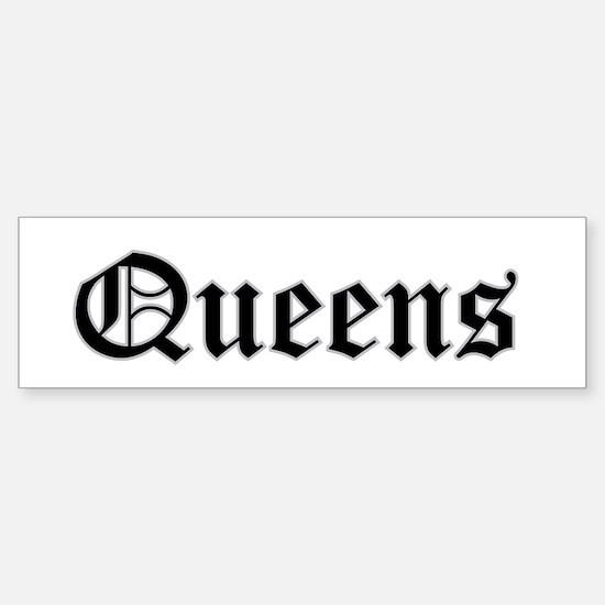 queens Bumper Bumper Bumper Sticker