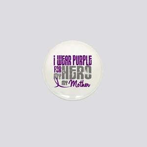 I Wear Purple For My Hero 3 (Mother) Mini Button