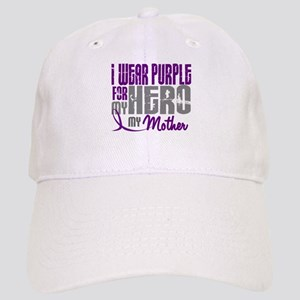 I Wear Purple For My Hero 3 (Mother) Cap