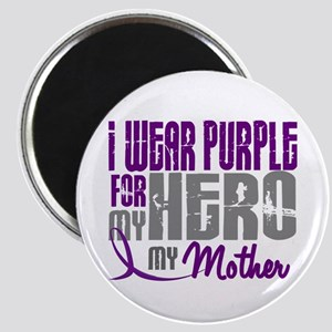 I Wear Purple For My Hero 3 (Mother) Magnet