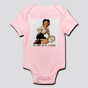 Cowgirl Horse Ate Paycheck Infant Bodysuit