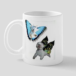Butterfly Pups Mug