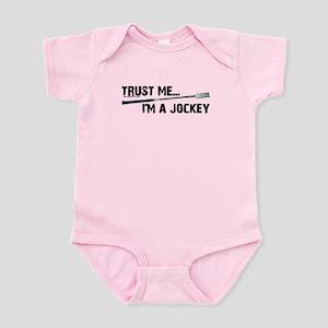 Trust me, I'm a jockey. Horse racing Infant Bodysu