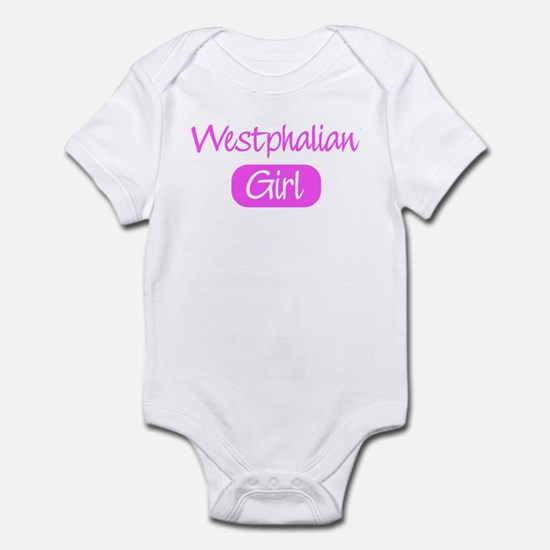 Westphalian girl Infant Bodysuit