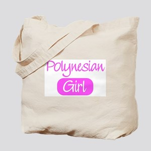Polynesian girl Tote Bag