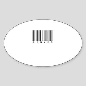 Denver Oval Sticker (10 pk)