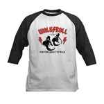 For Toes About To Walk Kids Baseball Jersey