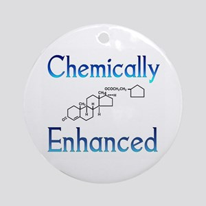 Chemically Ehanced Round Ornament