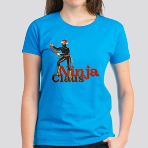 Ninja Claus Women's Dark T-Shirt