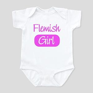 Flemish girl Infant Bodysuit